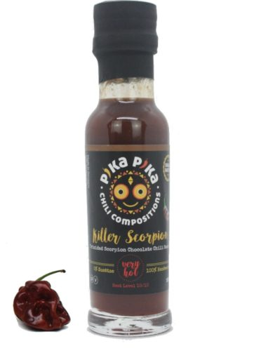 killer scorpion trinidad chili sauce