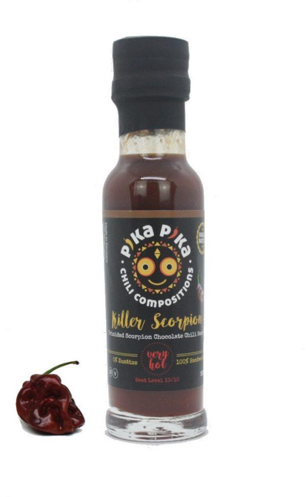 sauce chili trinidad scorpion tueur