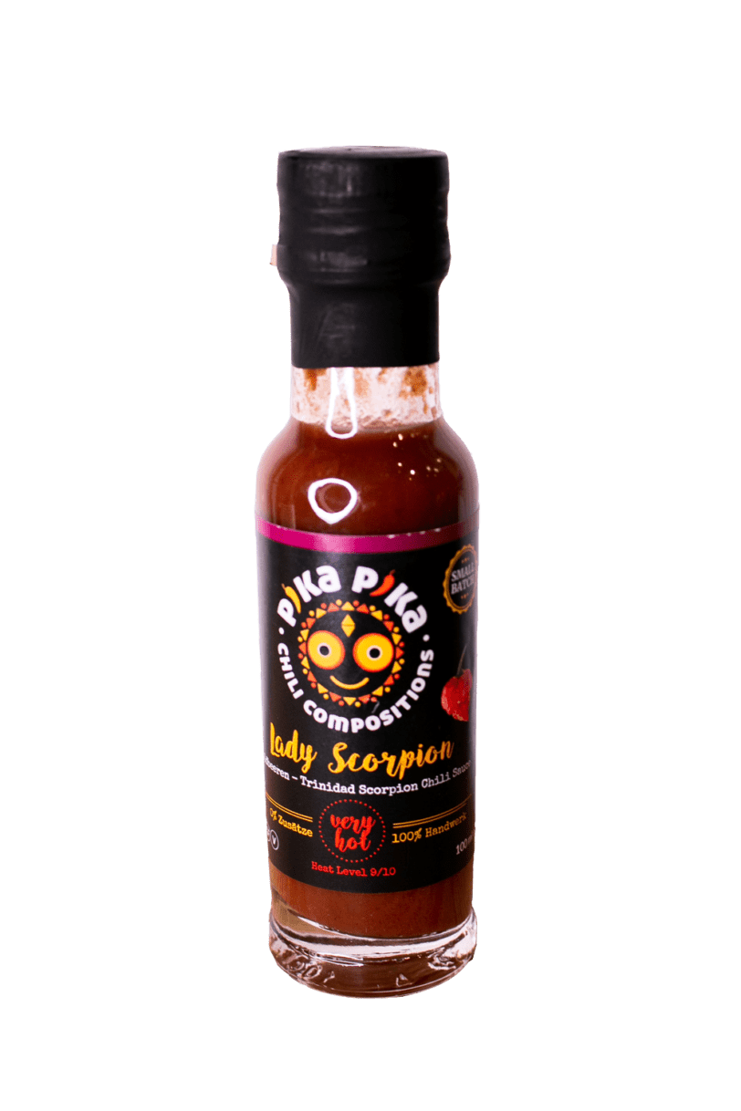 Trinidad Scorpion Chili Sauce