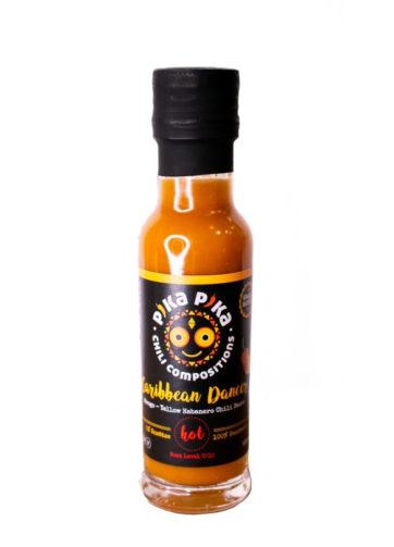 Caribbean dancer chili sauce
