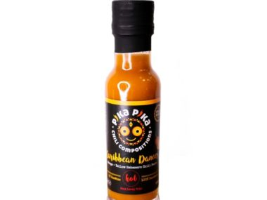 Caribbean dancer chili sauce