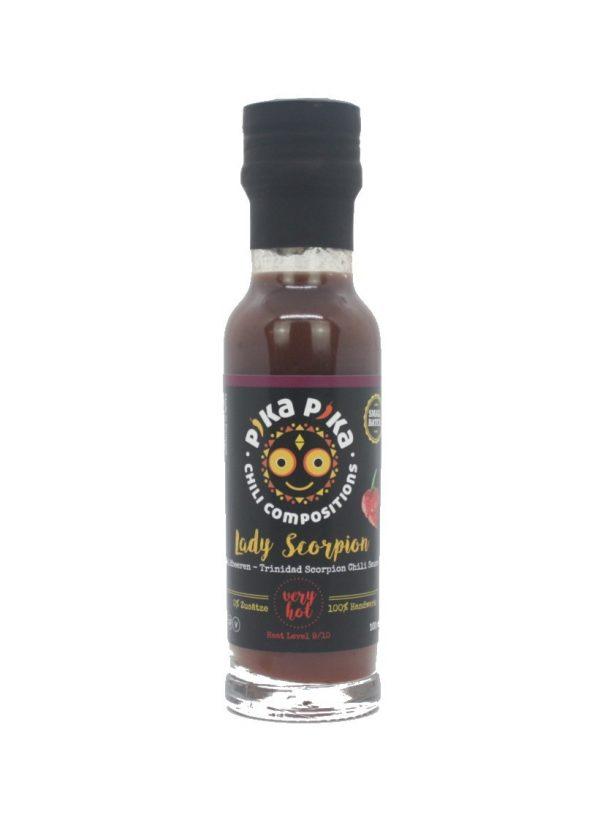 dzikie jagody skorpion sos chili