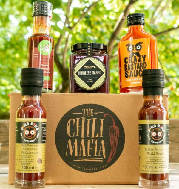 extra scharf chili mafia hottie
