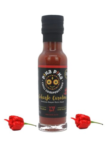 HOT Carolina reaper chili sauce