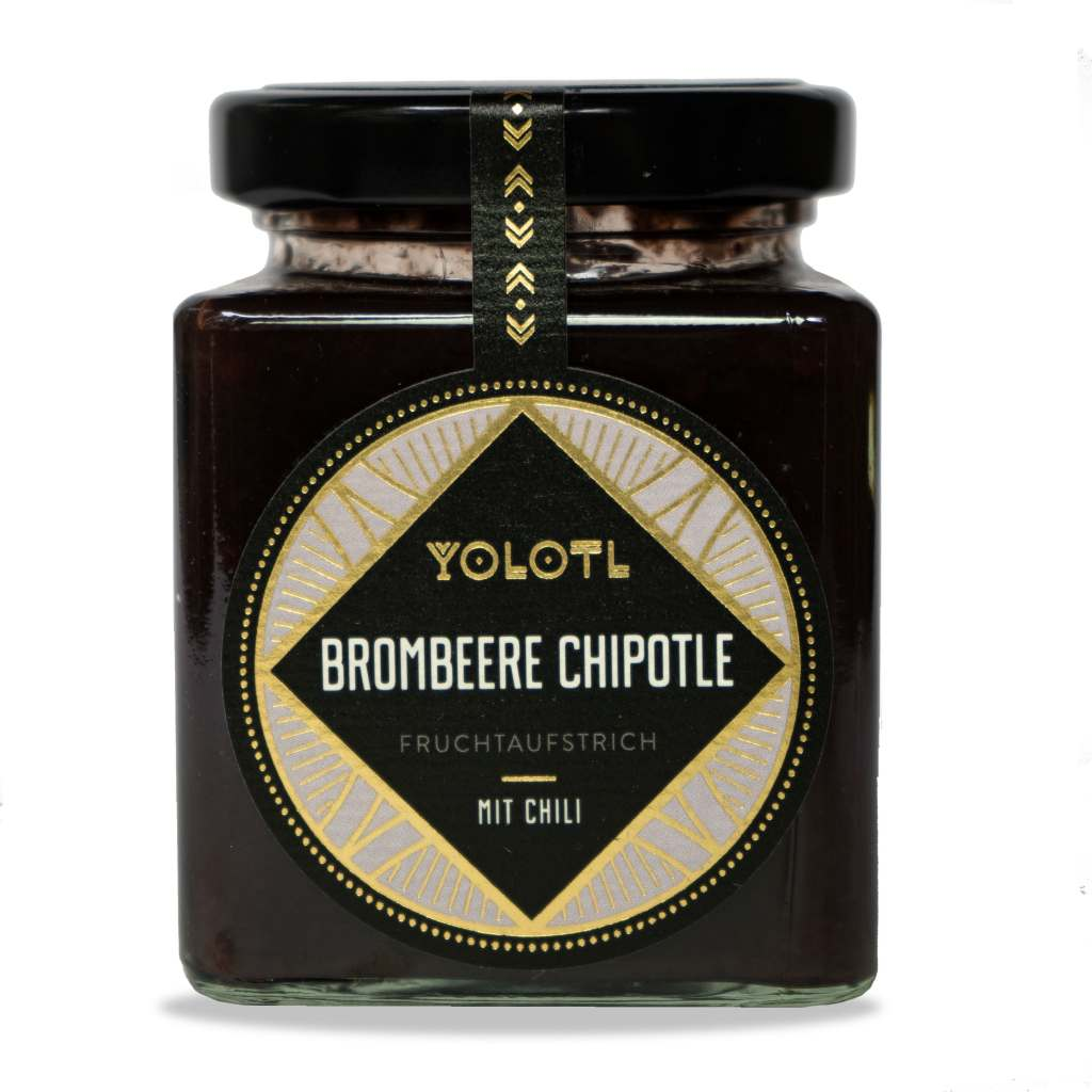 brombeere Chipotle yolotl frucht